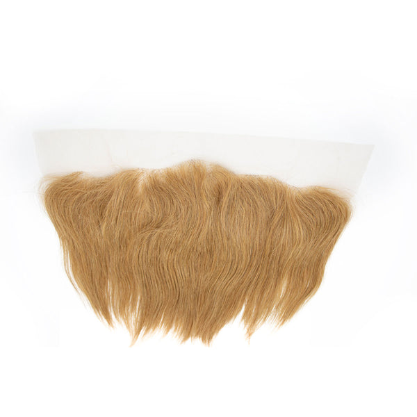 Lace frontal straight blonde hair extensions