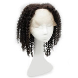 Wig curly black hair extension