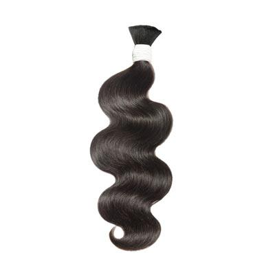Bulk water body wavy black hair VD1