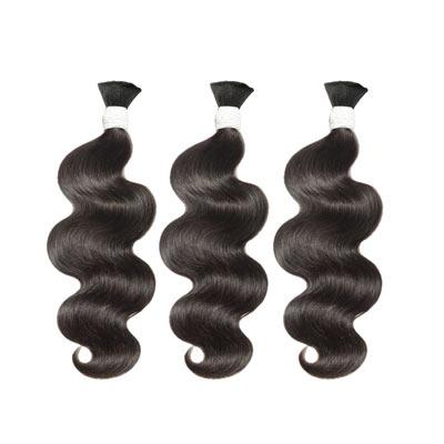 Bulk water body wavy black hair VD2