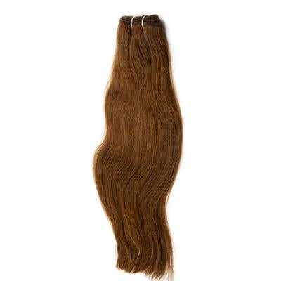 Weft straight dark brown hair extensions VD2