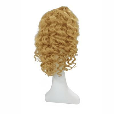 Wig body wavy blonde hair color #60 and #60C