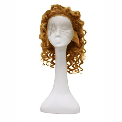 Wig body wavy light brown hair