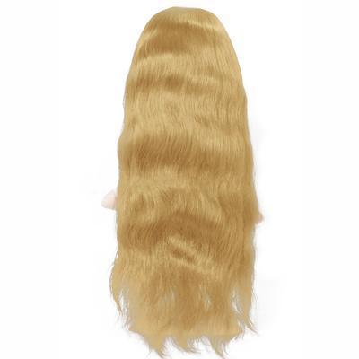 Wig natural wavy blonde color #60 and #60C