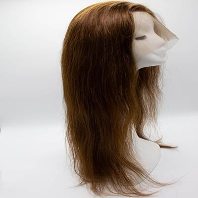 Wig straight light brown hair extension