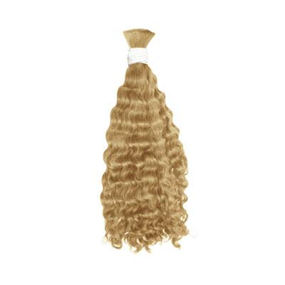 Bulk deep wavy blonde hair VD2