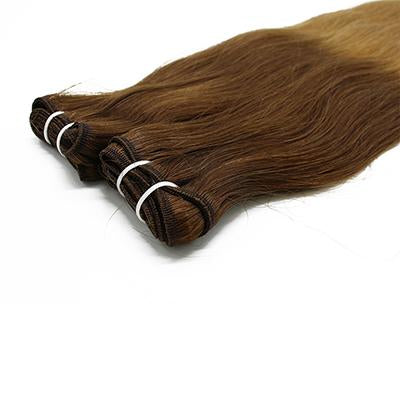 Weft straight ombre color  #4 and #27 VD1