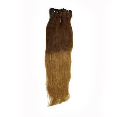Weft straight ombre color #4 and #27 VS1