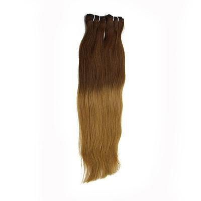 Weft straight ombre color #4 and #27 VD2