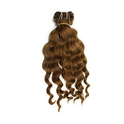 Weft body wavy light brown hair VD1