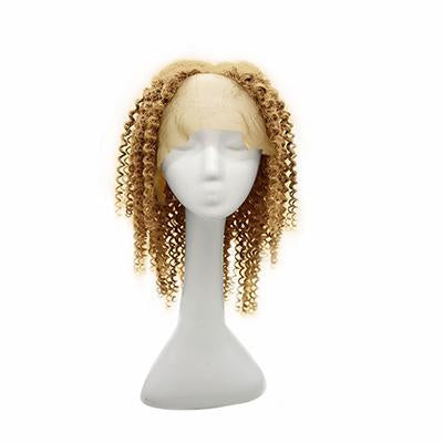 Wig curly blonde hair extension