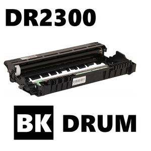 Brother DR2300 compatible new build drum cartridge
