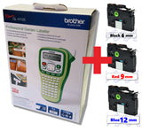 Brother P-Touch GL-H105 Label Printer Bundle