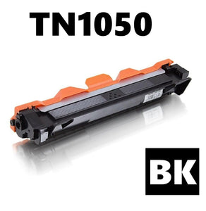Brother TN1050 compatible toner cartridge with detail
