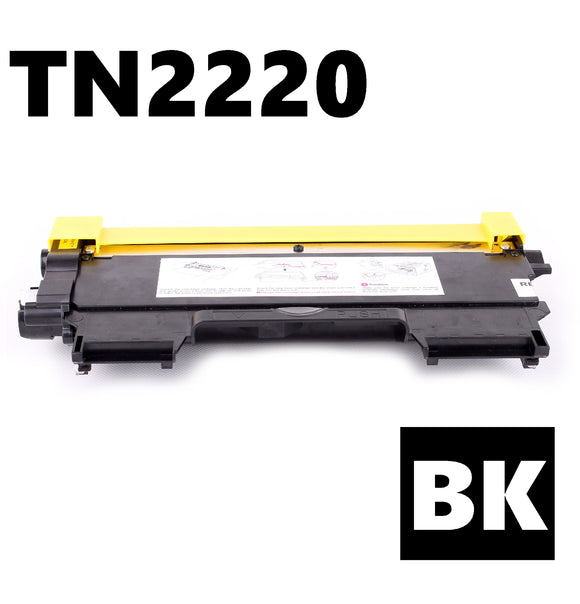 Brother TN2220 compatible black toner cartridge