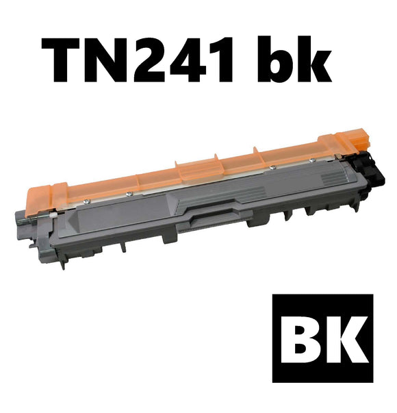 Brother TN241bk compatible black toner cartridge