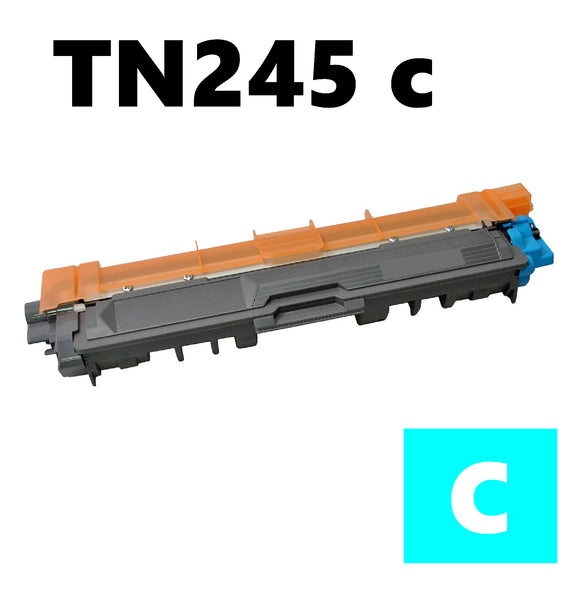Brother TN245c compatible cyan toner cartridge