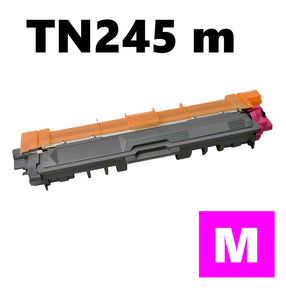 Brother TN245m compatible magenta toner cartridge