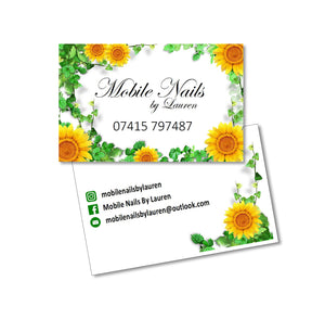 Business Card Full Colour Double Sided Laminated