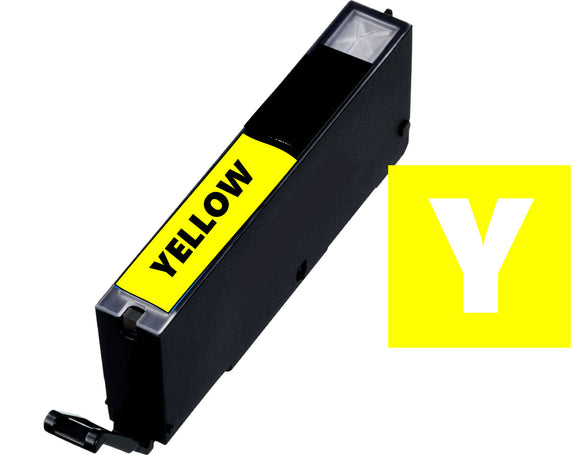 Canon Cli581y compatible yellow inkjet cartridge CLi-581