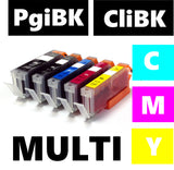 Canon Pgi520 Cli521 compatible inkjet cartridges multipack