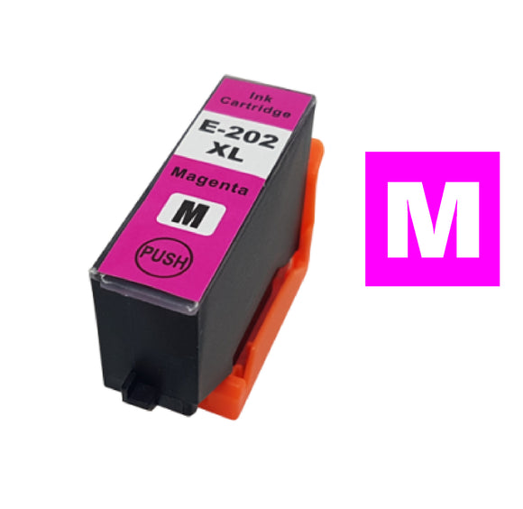 Epson 202XL magenta compatible inkjet cartridge T02H340