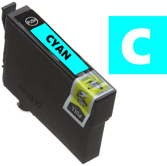 Epson T0712 compatible cyan inkjet cartridge cheetah ink