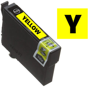 Epson T0714 compatible yellow inkjet cartridge cheetah ink