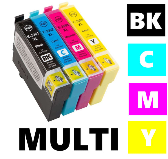 Epson T1285 compatible inkjet cartridge multipack
