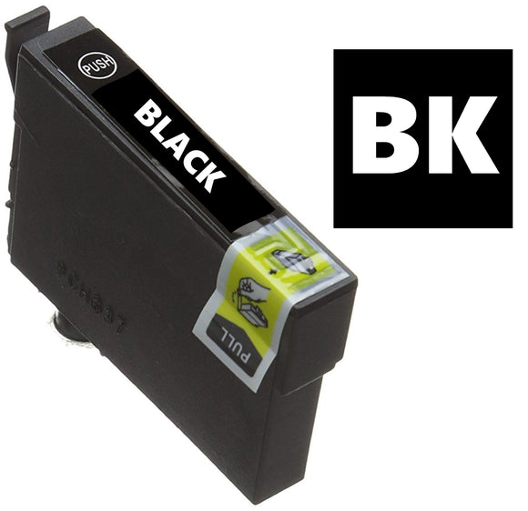 Epson T1291 compatible black inkjet cartridge
