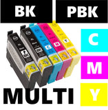Epson T3357 XL compatible inkjet cartridge multipack