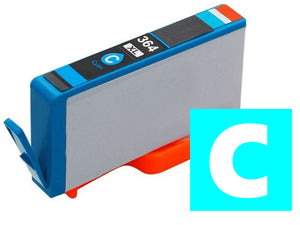 HP 364XL compatible XL cyan inkjet cartridge CB323 XL equivalent of 364 CB318