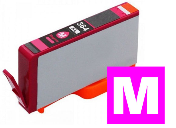 HP 364XL compatible XL magenta inkjet cartridge CB324 XL equivalent of 364 CB319