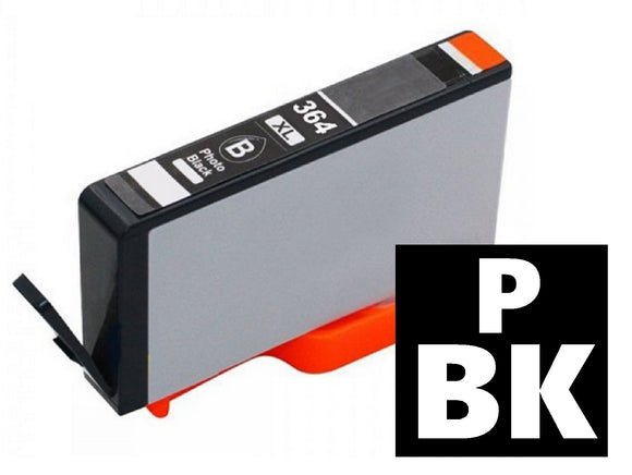 HP No.364XL photo black compatible inkjet cartridge CB322