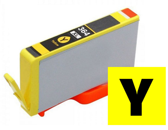 HP 364XL compatible XL yellow inkjet cartridge CB320 XL equivalent of 364 CB325