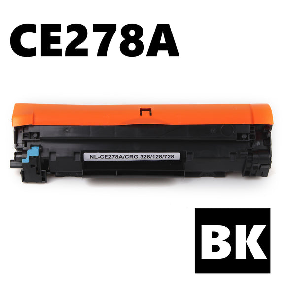HP CE278A compatible black toner cartridge