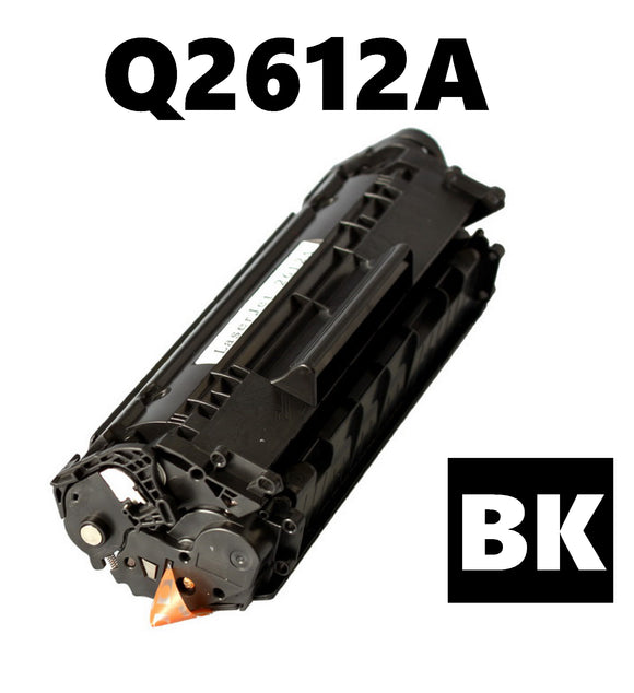 HP Q2612A remanufactured compatible toner cartridge