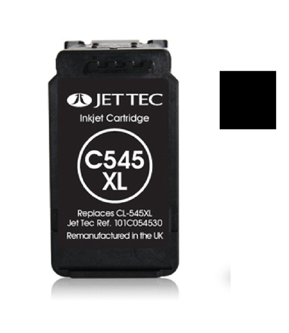 Canon PG545XL recycled black inkjet cartridge Jet Tec compatible PG545