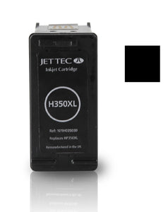 HP 350XL compatible recycled black inkjet cartridge Jet Tec CB336