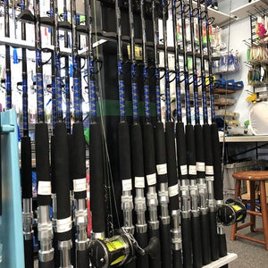 "8 Rod 5'6"" MH Bay Trolling Combo Package w/PENN Squall Reels"