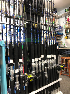 Shore Tackle Series Bay Trolling Rods