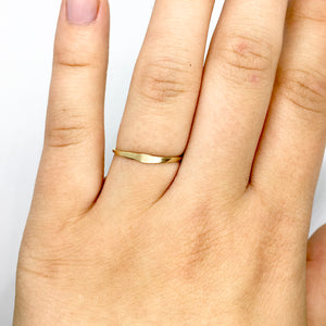 Drop Ring - 14K Gold