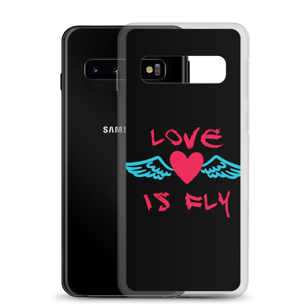 Love is Fly Samsung Case
