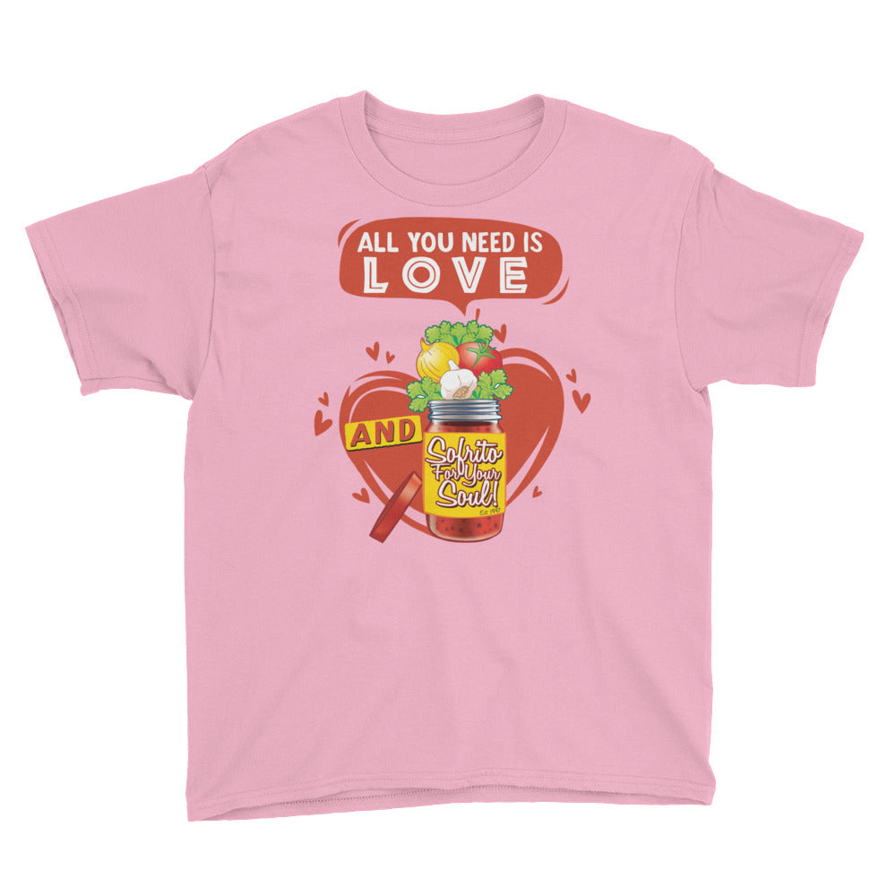 Love + Sofrito Youth Short Sleeve T-Shirt