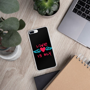 Love is Fly iPhone Case