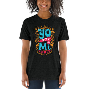 Yo Voy A Mi! - Short sleeve t-shirt