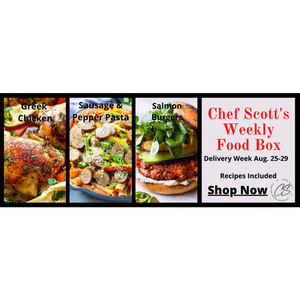 Chef Scott's Weekly St. Lawrence Market Food Box - (Delivery Week Aug. 25-29th) - The Chef Scott Shop