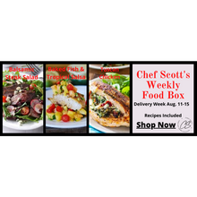 Load image into Gallery viewer, Chef Scott's Weekly St. Lawrence Market Food Box - (Delivery Week Aug. 11-15th) - The Chef Scott Shop