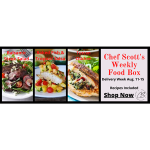 Chef Scott's Weekly St. Lawrence Market Food Box - (Delivery Week Aug. 11-15th) - The Chef Scott Shop