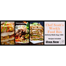 Load image into Gallery viewer, Chef Scott's Weekly St. Lawrence Market Food Box - (Delivery Week Aug. 4-8th) - The Chef Scott Shop